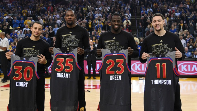 All Time Golden State Warriors Team Revealed In Nba 2k18 Knbr