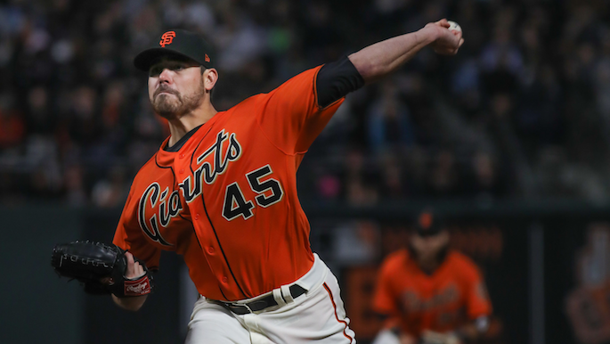Moore needs win over Dodgers to pad resume for 2018 rotation