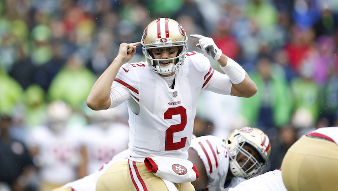 Kyle Shanahan: Brian Hoyer needs to 'get his edge back'