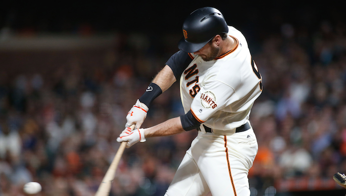 Bruce Bochy would welcome 'a new look' at first base [report]