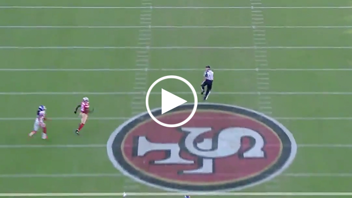49ers complete 8th longest TD pass in team history