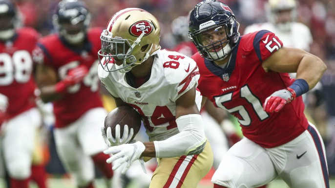 49ers' Kendrick Bourne uses the movie, 'The Program,' as a teaching point
