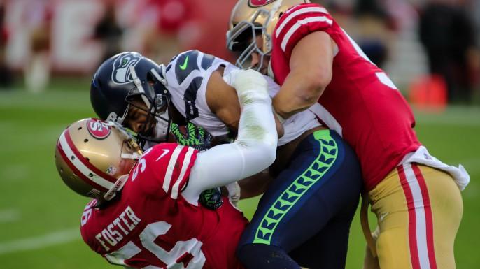 Does 49ers linebacker Reuben Foster hit too hard?