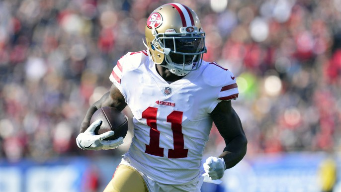 49ers official tells KNBR broadcast team that Marquise Goodwin will be OK