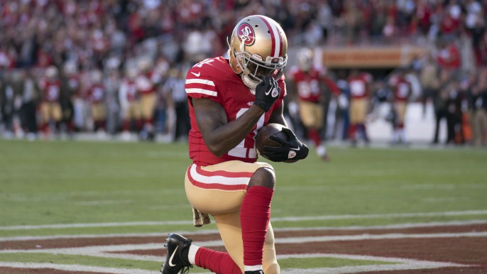 Garoppolo calls hit on Goodwin 'dirty'