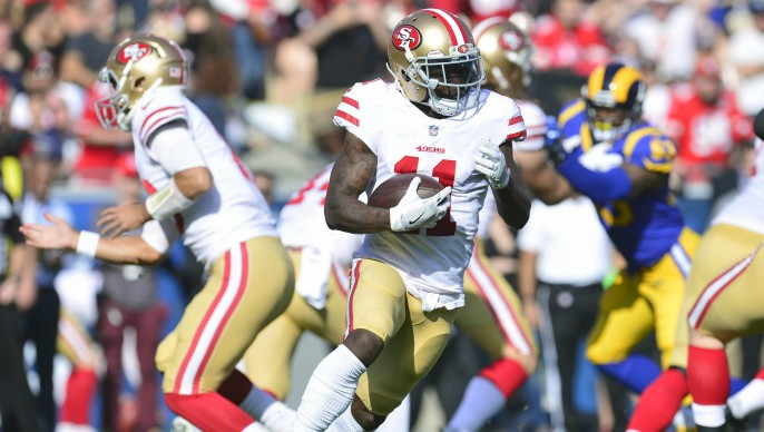 Marquise Goodwin wins Eshmont and says he's 'symptom free'