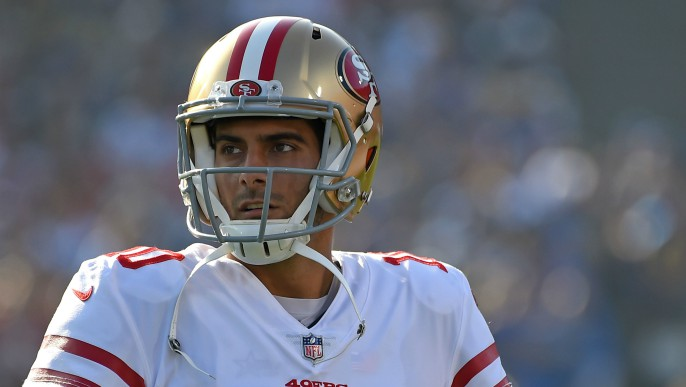Lynch, Garoppolo approach contract extension differently