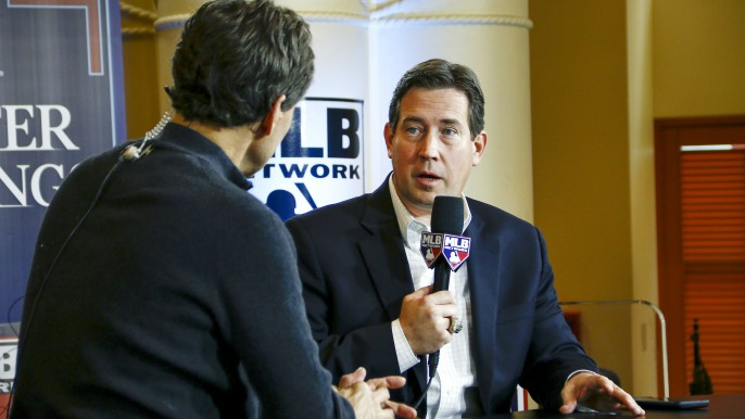 Bobby Evans discusses how Giants plan to address remaining team needs