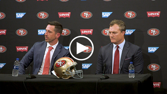 Kyle Shanahan takes hard line on Reuben Foster in first public comment on court case