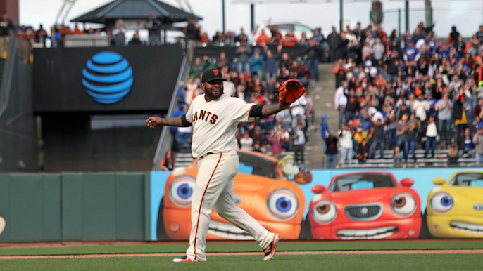 Bochy analyzes Sandoval's pitching performance