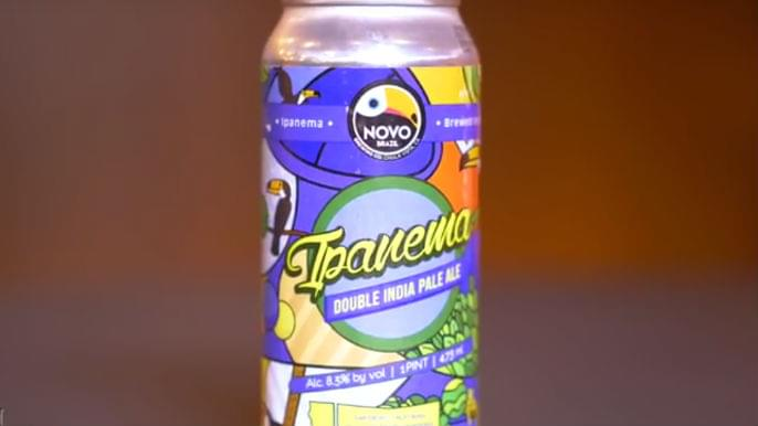 Tolbert's Beer Review: NOVO Brazil Ipanema Double IPA