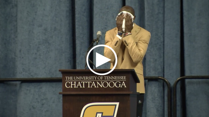 Terrell Owens gives emotional Hall of Fame speech at alma mater