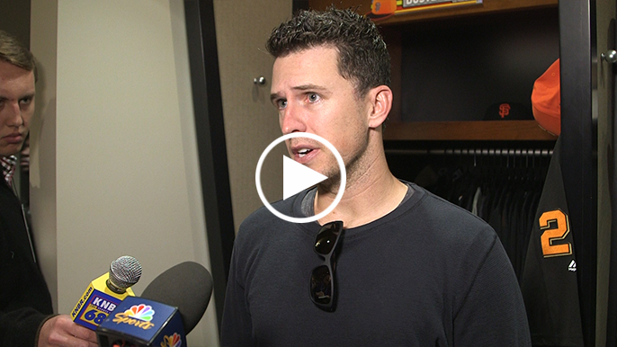 Buster Posey gives date for season-ending hip surgery