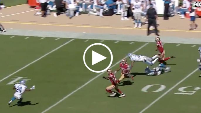 Matt Breida gives 49ers 27-13 lead on 66-yard touchdown run
