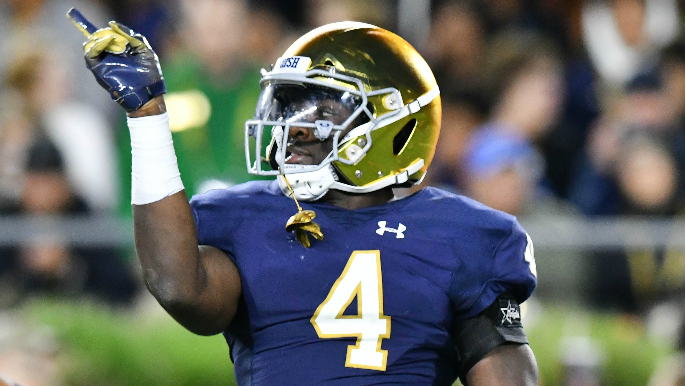 NFL Football: Notre Dame Players In The Nfl 2019