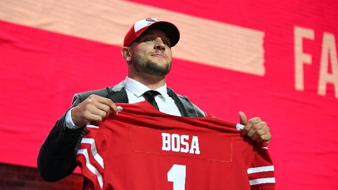 Grading 49ers' first three draft picks