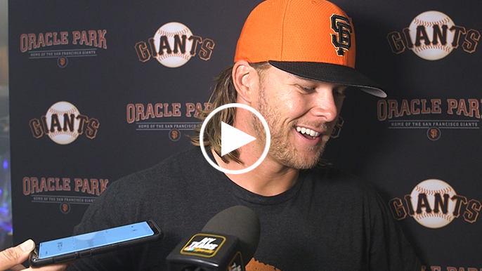 Anderson applauds Giants' efforts to fly his family out, make debut memorable