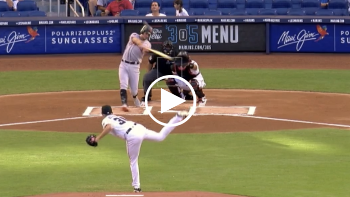 Joe Panik rips first pitch of game for home run