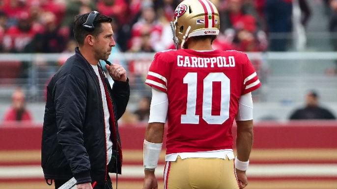 Jimmy Garoppolo discusses why he enjoys playing for Kyle Shanahan on 680