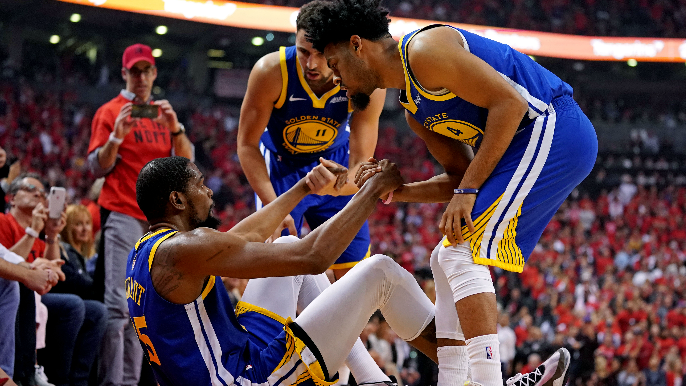 """Fitz on criticizing Warriors for KD injury: 'Stop talking about crap you have no idea about"""""""