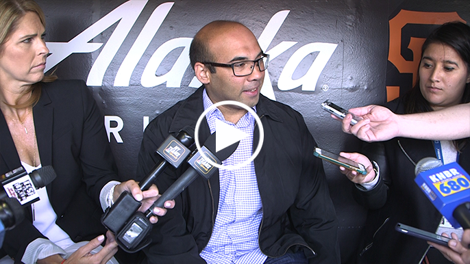 Farhan Zaidi speaks: Won't declare Giants as sellers, hints at getting creative