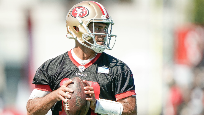 49ers Notebook: Hurd involved in pair of melees, Garoppolo has ugly Day 2