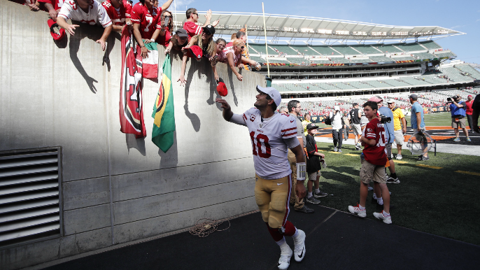 A statistical look at what Jimmy Garoppolo means to the 49ers