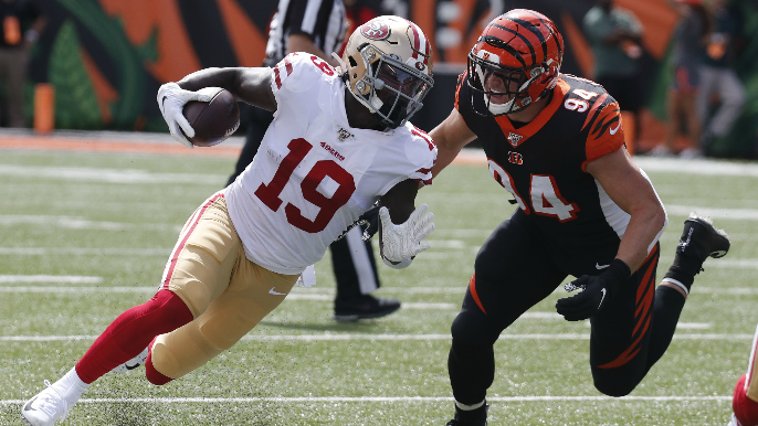 Reflecting on 49ers' young receiving corps after three games