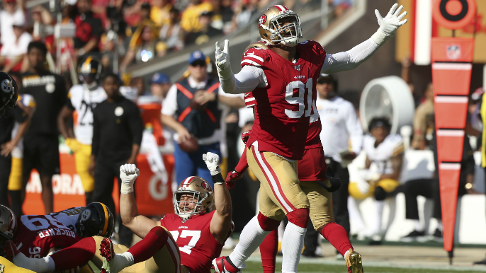 Steve Young compares 49ers defensive line to some of greatest in NFL history