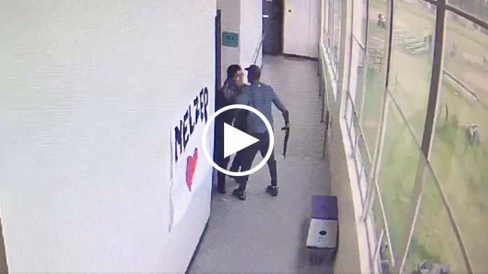 Video surfaces of former 49ers assistant coach disarming gunman in high school