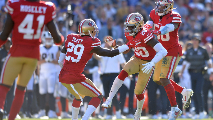 49ers' safety duo has been doing this since high school, knows 5-0 start 'means nothing'