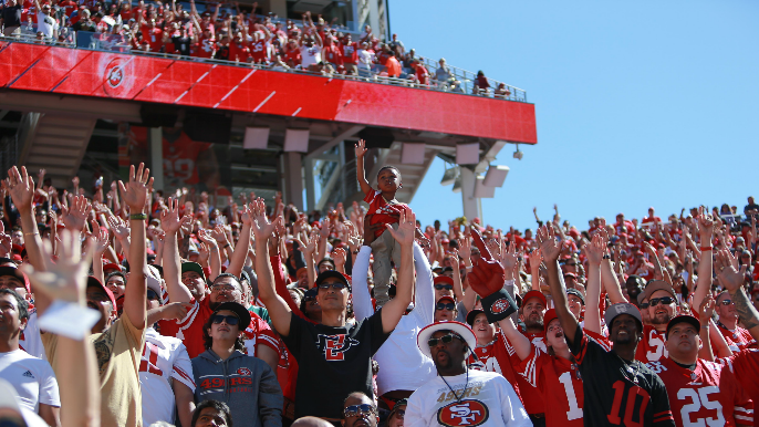 49ers to become first sports team to include concessions in all season ticket memberships