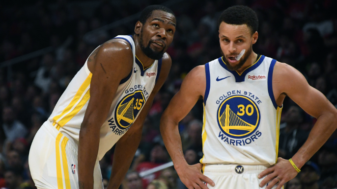 Kevin Durant names all-time starting 5 of players he's played with, Stephen Curry does not make cut