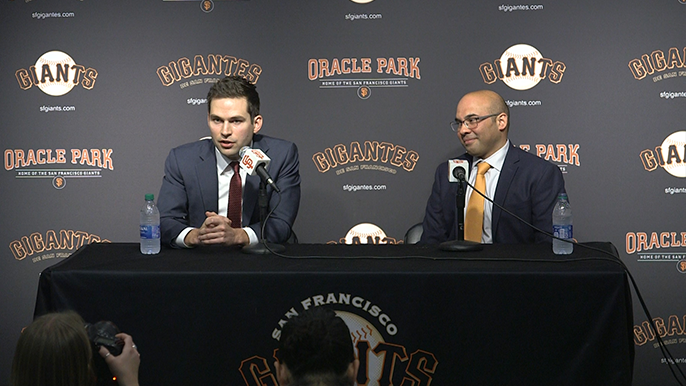 Giants leave Winter Meetings happy and with many directions to go from here