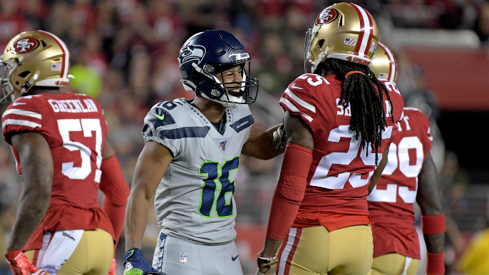 49ers can't overcome injury pileup, dealt first loss by Seahawks in wild overtime game