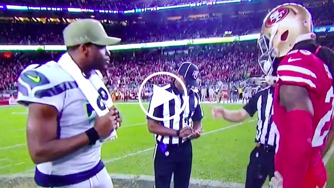 Video appears to show referee incorrectly ruled Seahawks won overtime coin toss