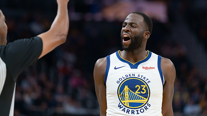 Draymond Green angry at ref after ejection: Can't tell me 'don't talk'