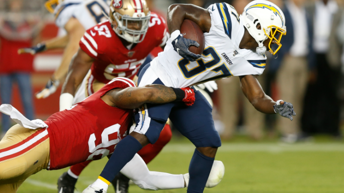 49ers Notebook: Who replaces Damontre Moore after season-ending injury