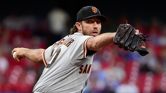 The first known interested teams in Madison Bumgarner sweepstakes