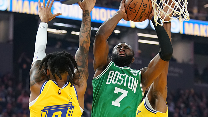 Warriors game takes painful turn, and lively Celtics battle ends with letdown