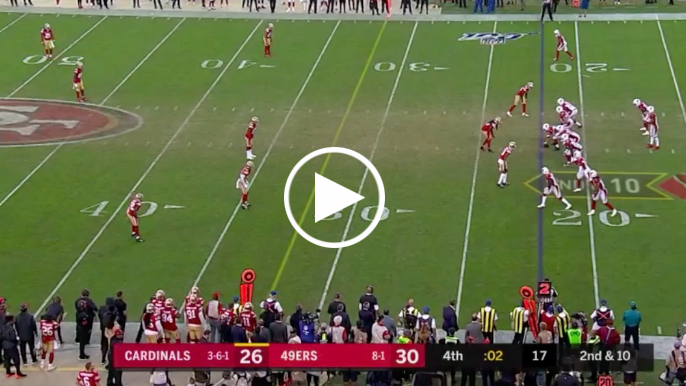 Defensive victory formation? 49ers break down bizarre, game-ending defensive touchdown