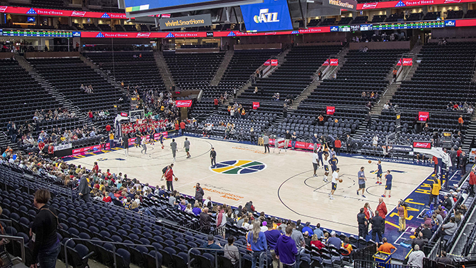 Arena evacuated after Warriors-Jazz game due to suspicious package