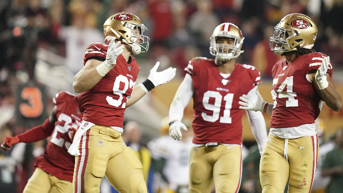 49ers suffocate Packers in dominating win, stake claim as favorites in NFC