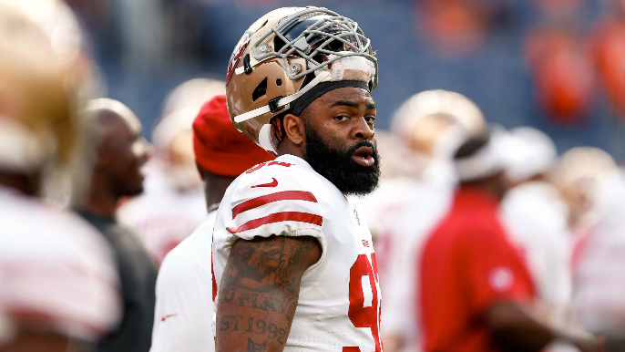 49ers promote defensive lineman to active roster, place Moore on IR