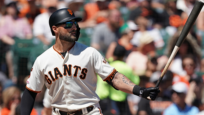 Kevin Pillar pens goodbye to Giants with love: 'Not how we drew it up'