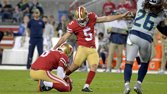 49ers waive McLaughlin, make two other moves