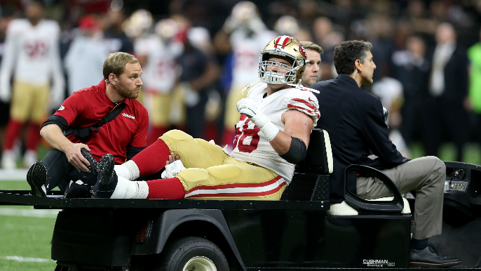 49ers lose Weston Richburg for the year, and Dee Ford, others are out a while, again