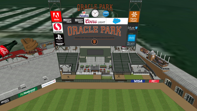 Giants unveil designs for relocated bullpens
