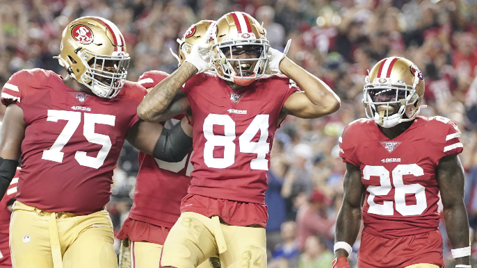 How the always elated, once-questioned Kendrick Bourne has become 49ers' ole reliable