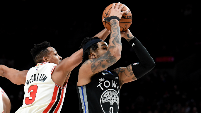 Warriors keep it close vs. Blazers, but lose fifth straight